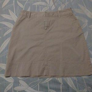 Cute Khaki Skirt